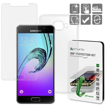 4smarts Samsung Galaxy A3 (2016) 4smarts 360 Schutz-Set - Transparent
