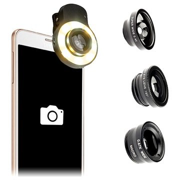 4smarts BasicLine Photographic Light Kamera-Objektiv-Set