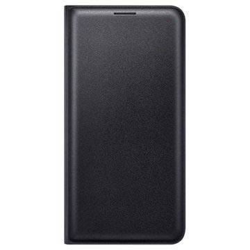 Samsung Galaxy J5 (2016) Flip Wallet EF-WJ510PB - Schwarz