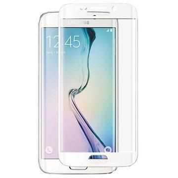 Samsung Galaxy S6 Edge Panzer Full-Fit Tempered Glass Displayschutz - Weiß