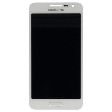 Samsung Galaxy A3 LCD Display - Weiß