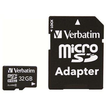 Verbatim MicroSDHC Speicherkarte - 32GB