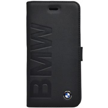 iPhone 6 / 6S BMW Signature Collection Book Hülle - Eingeprägtes Logo - Schwarz