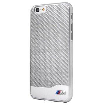 iPhone 6 BMW M Collection Hartschale - Carbon-Aluminium - Silber