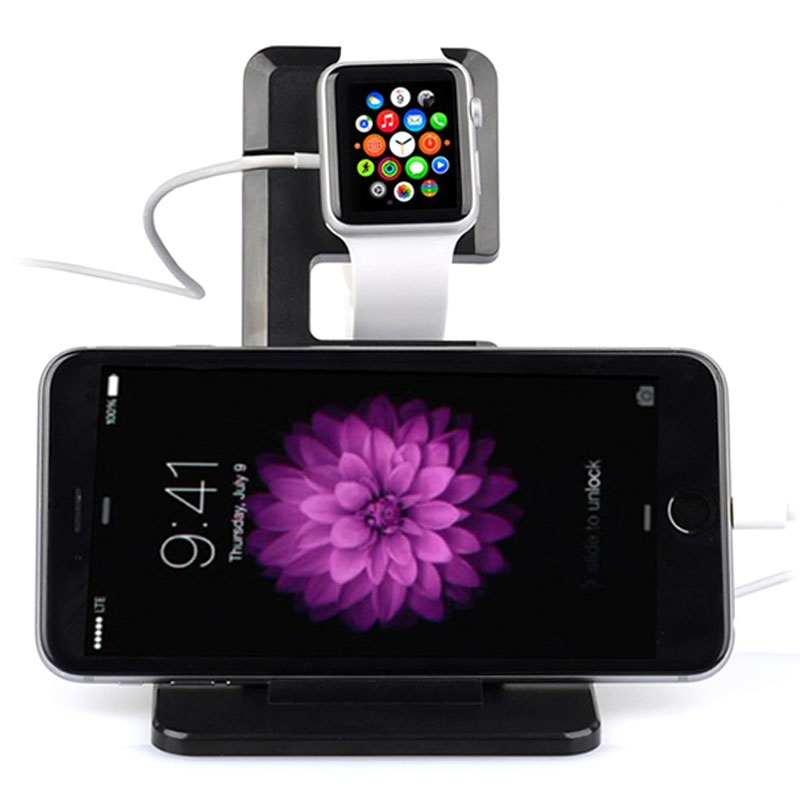 itian a11 ladestation apple watch iphone ipad schwarz. Black Bedroom Furniture Sets. Home Design Ideas