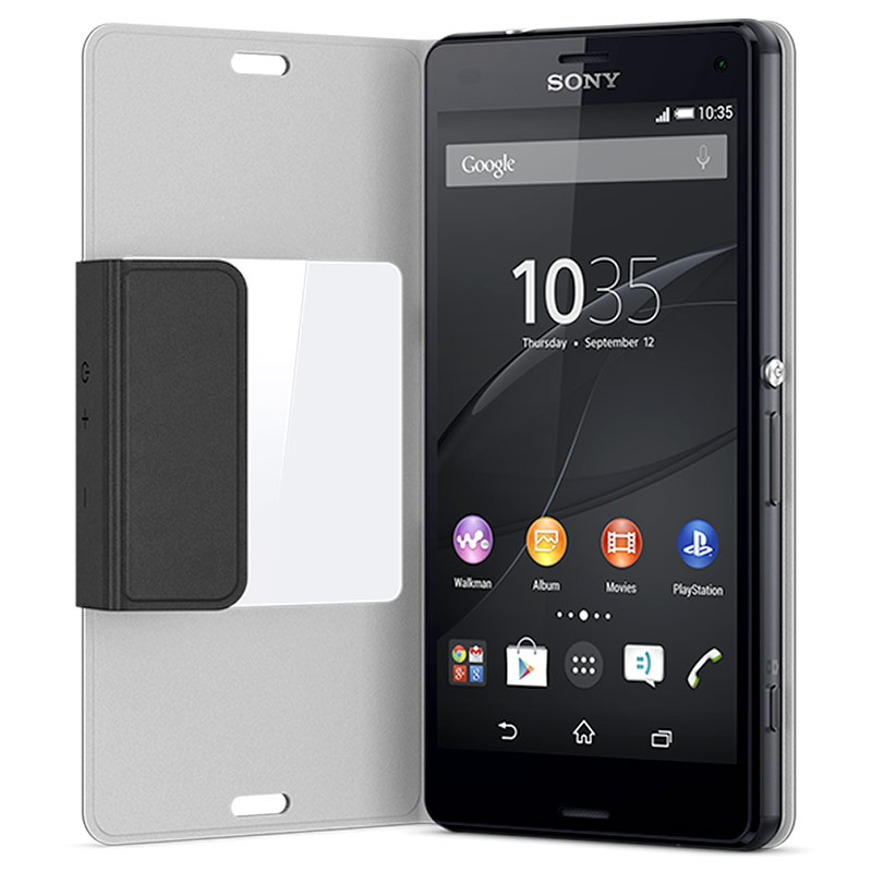 original sony xperia z3 compact style cover scr26. Black Bedroom Furniture Sets. Home Design Ideas
