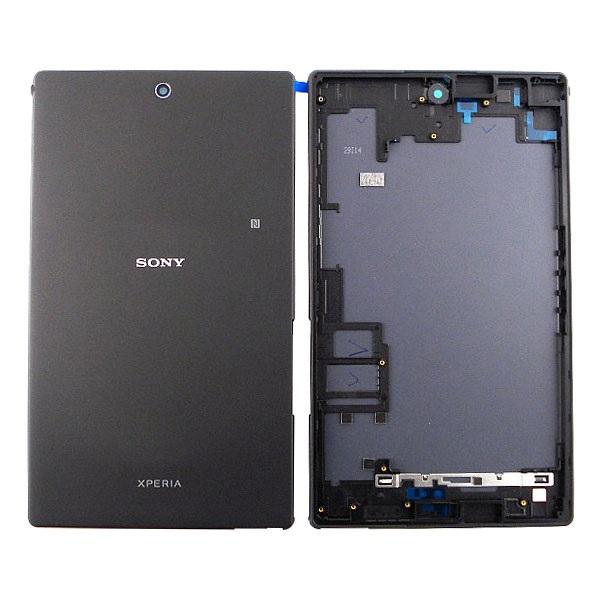 sony xperia z3 tablet compact akkufachdeckel schwarz. Black Bedroom Furniture Sets. Home Design Ideas